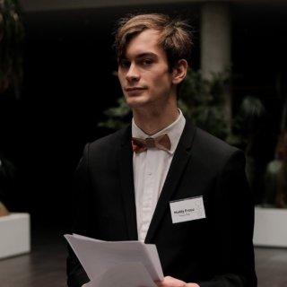 Matěj Frouz - (Zelení), 2.místo, 22 let