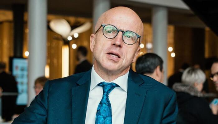 Pavel Telička vdebatě kandidátů na Českém rozhlase