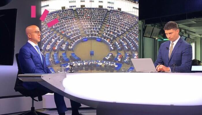 Telička na ČT24: Chci, aby Česká republika hrála ústřední roli vefektivnější Unii