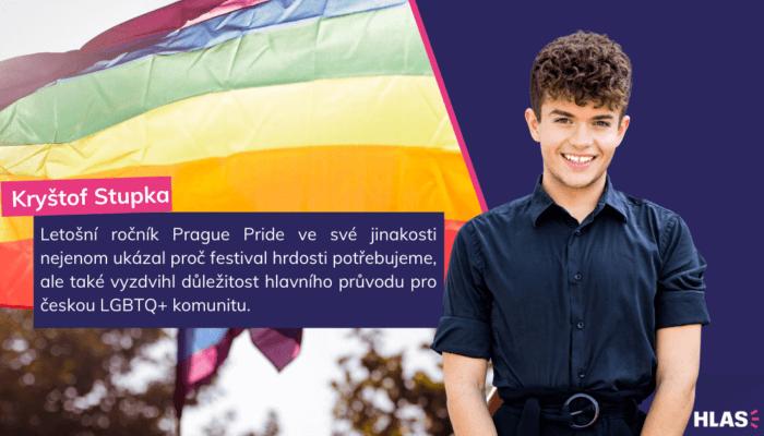 Kryštof Stupka: Tři důvody proč Pride je stále (více) potřeba