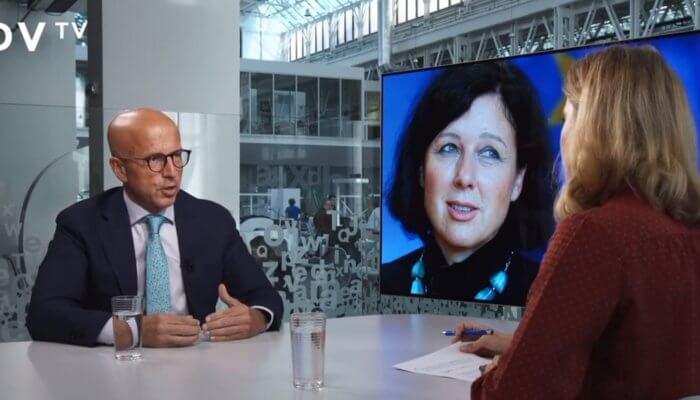 Telička na ČT aDVTV: Portfolio Věry Jourové ukazuje na slabé postavení Andreje Babiše vEU